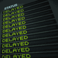 delayed