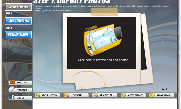PhotoPixar: Free Program Creates Customized Online Photo Albums in Seconds