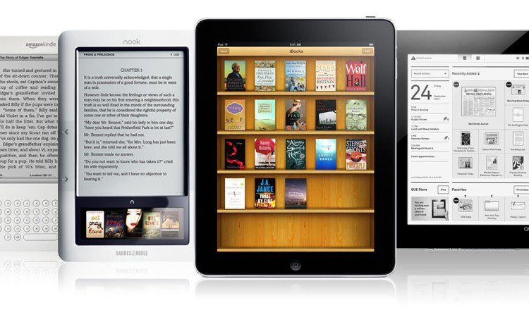 Top 5 E-Readers
