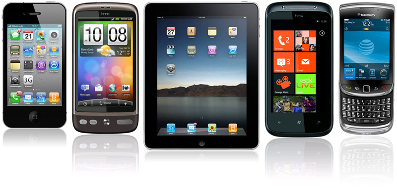 android iphone windows phones