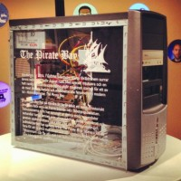Pirate Bay's First Server Goes on Display In File Sharing Museum Exhibit