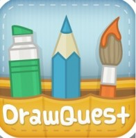 DrawQuest App Is Like a Coloring Book for the iPad