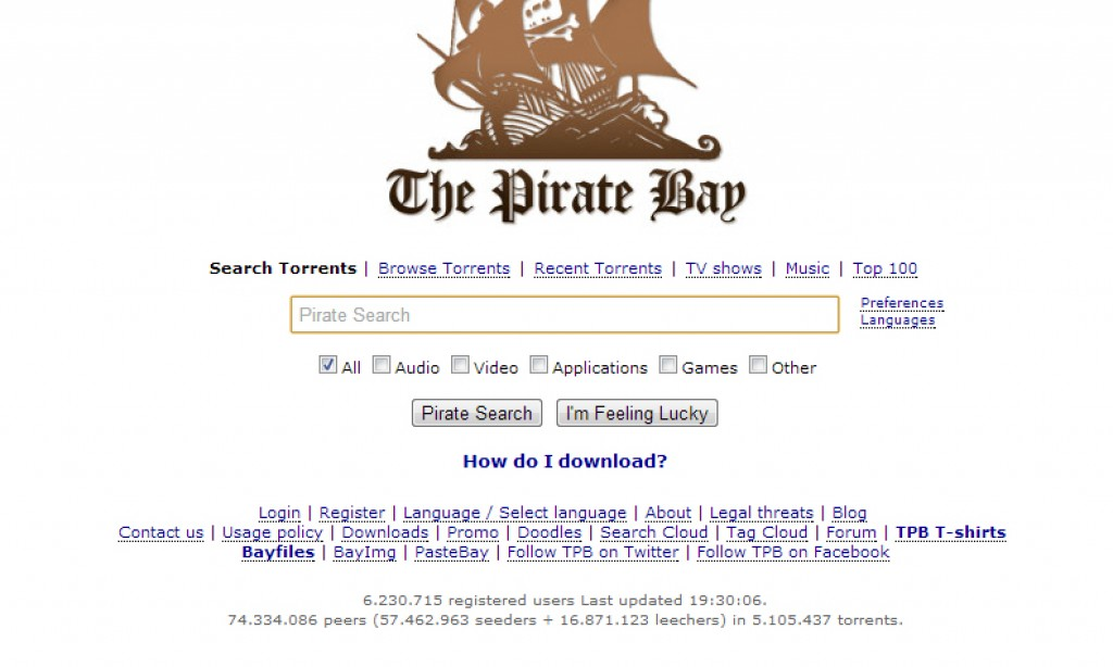 PirateBay Settles in Iceland