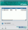 NOD32 Virus Log