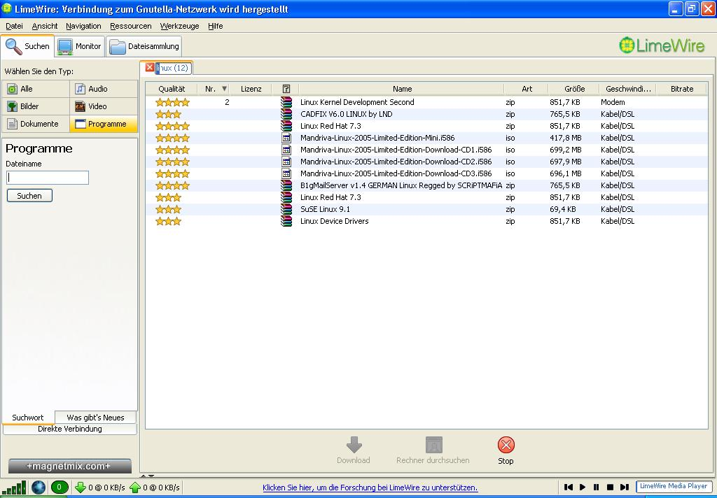 Old Version Limewire 22
